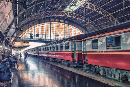 Photo for Hua Lamphong train station in Bangkok, Thailand - Royalty Free Image