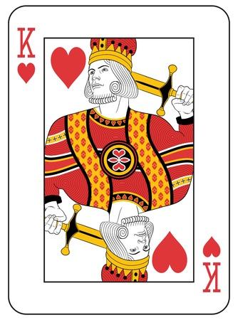 King of Hearts. Original Design.