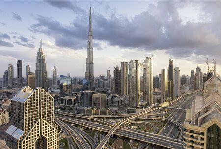 Photo pour Dubai Cityscape, UAE. - image libre de droit
