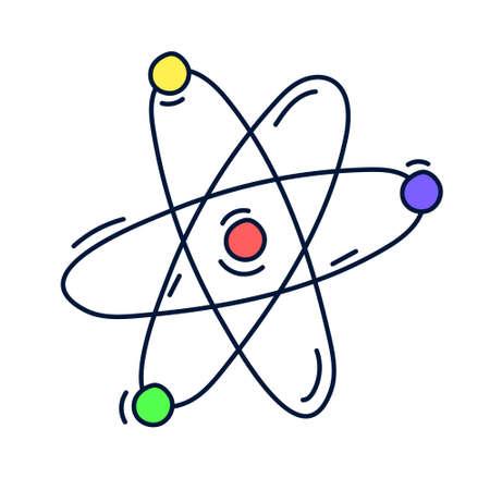 Illustration pour molecule dna design vector objects illustration science elements and laboratory objects - image libre de droit