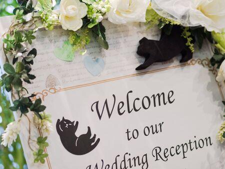 Photo pour Welcome Board - image libre de droit