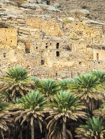 Ancient village ruins, Oman