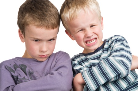 These two brothers do not agree!