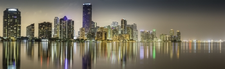 Miami downtown panorama by n