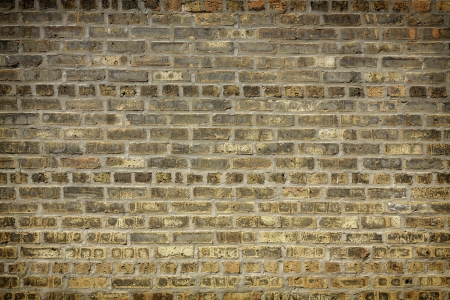 Brownish Gray Brick Wall