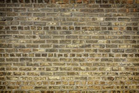 Brownish-Gray Brick Wall