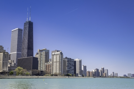 Downtown Chicago From Lake Michigan