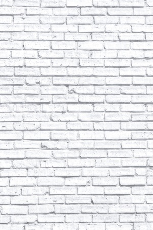 White fogy brick wall for background or texture