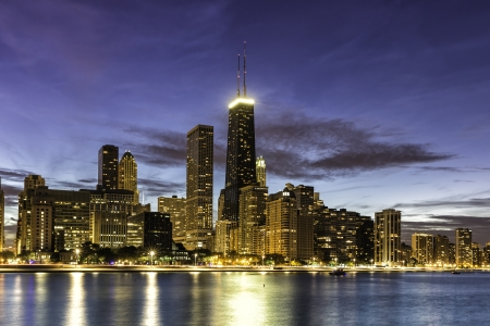 Downtown Chicago by dust