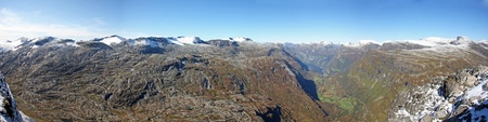 Dalsnibba - View to Geiranger