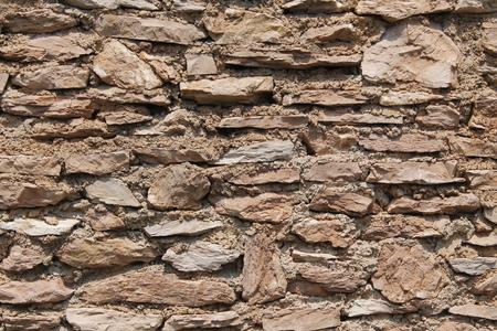 ancient wall with stone bricks