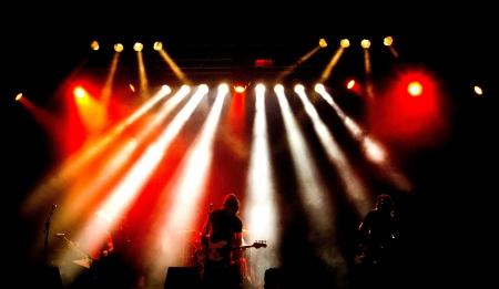 heavy metal rock concert