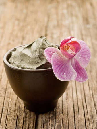 mud and orchid natural wellness spa concept