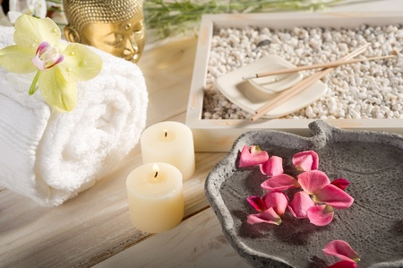 aromatherapy and spa concept