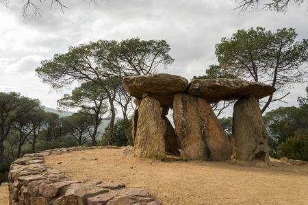 Dolmen de Pedra gentil, Vallgorguina, Catalunya