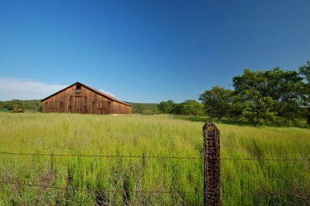 rural springtime countryside