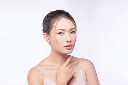 Photo for Beauty woman portrait. Skin and face care concept - Royalty Free Image