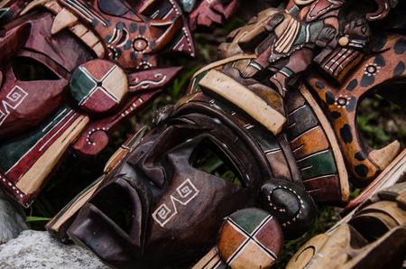 Photo pour Handmade craft by mayan artisans at Mexico - image libre de droit