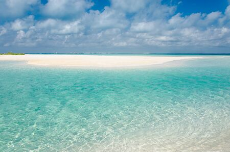 Photo for Transparent waters of Punta Norte Beach, Isla Mujeres - Royalty Free Image