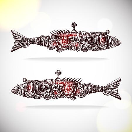 mechanical fishs