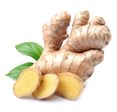 Foto für Ginger root in isolated white background - Lizenzfreies Bild