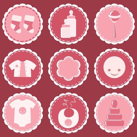 Foto de Baby design element.  - Imagen libre de derechos