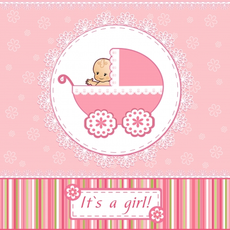 Photo for Baby Shower card - Royalty Free Image