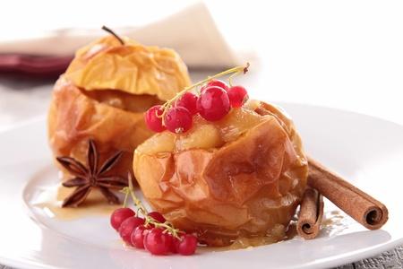 gourmet baked apple