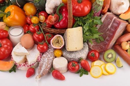 Photo pour composition of grocery - image libre de droit