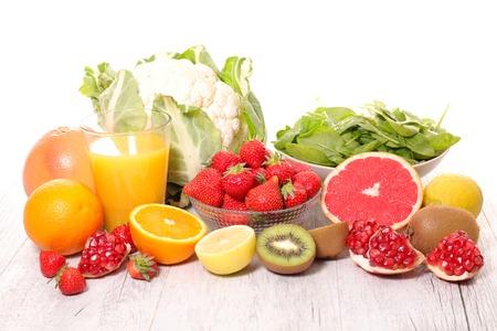 Foto für fruit and vegetable,vitamin c - Lizenzfreies Bild