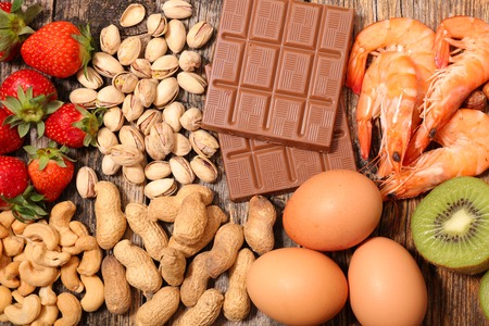 Foto de allergy food - Imagen libre de derechos