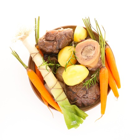 beef,vegetable and broth