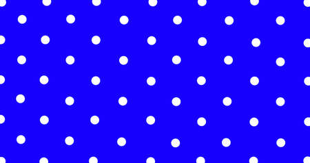 Big white polka dots on blue, seamless background. Seamless pattern of large white polka dots on a blue background for arts, crafts, fabrics, decorating, albums and scrap books.