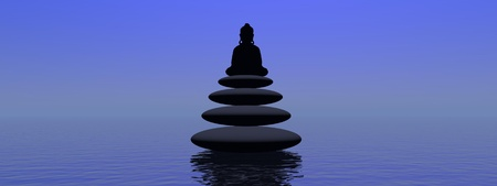 stones and buddha