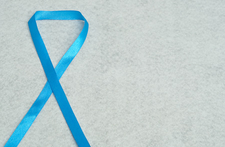 The blue ribbon is a symbol to spread awareness of various health issues nationally