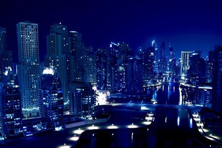 Foto de Night city - Imagen libre de derechos