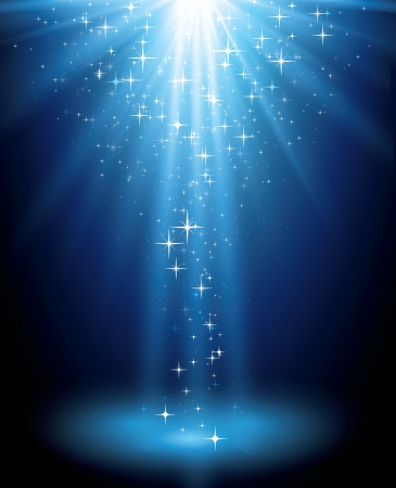 Illustration pour Magic light background - image libre de droit