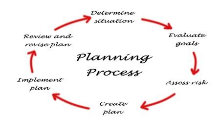 Foto de planning process - Imagen libre de derechos