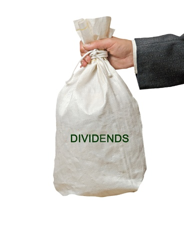 Bag with dividends
