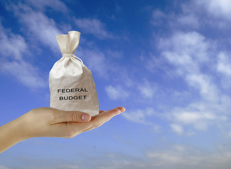 Bag with federal budget