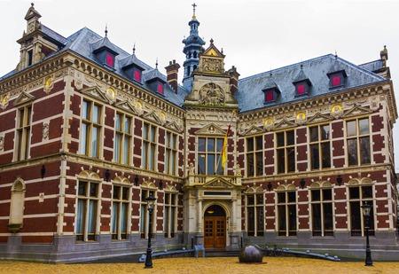 Utrecht University at winter