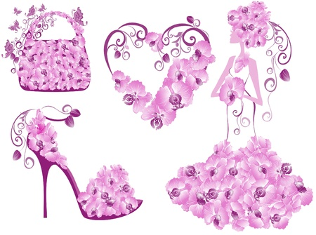 Fashion women accessories collection