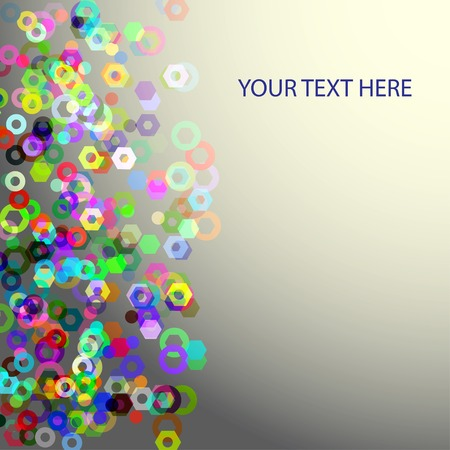 frame for your text with colors elements