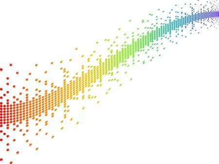 Illustration for pixels vector illustration - Royalty Free Image