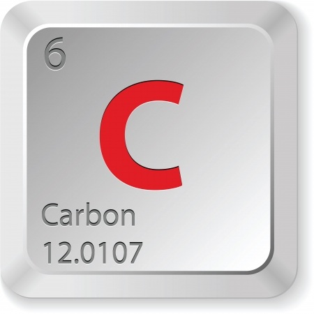 Carbon - keyboard button