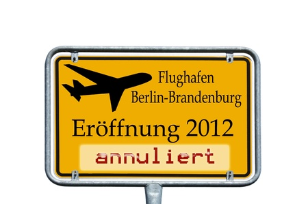 german Shield - airport opening