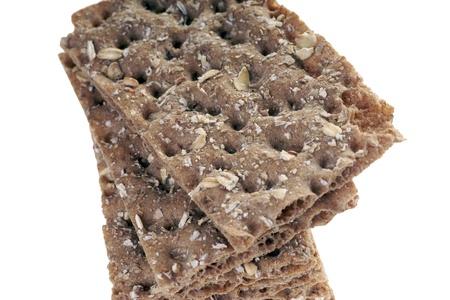 Whole grain crispbread