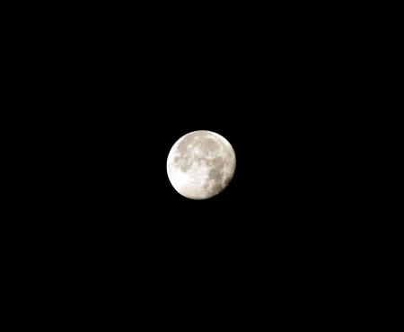 decreasing full moon