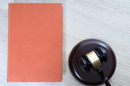 statute book and judges gavel
