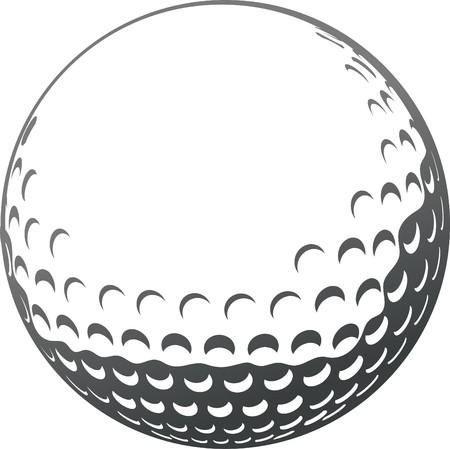 golf ball close-up